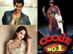 CONFIRMED! Varun Dhawan & Sara Ali Khan To Star In David Dhawan's Adaptation Of 'Coolie No 1'