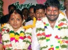 Ganja Karuppu weds Sangeetha