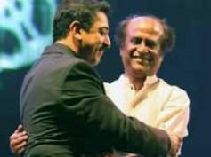 Rajinikanth- Kamal Haasan watch Jaggubhai premier