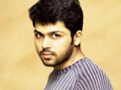 """Home is the best place"" says Karthi"