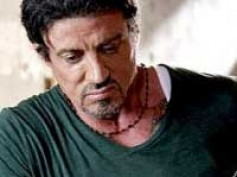 Sylvester Stallone made taller for The Expendables poster