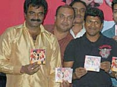 Puneet Rajkumar launches Prema Chandrama music