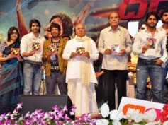 Dhada audio launch: A glittering event