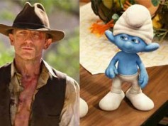 Cowboys and Aliens, The Smurfs tied on top of Box Office