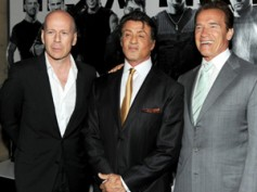 Arnold, Bruce Willis join Expendables 2 cast