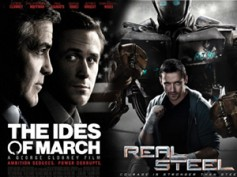 Real Steel outruns Ides of March at Box Office