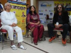 Kavita, Hariharan, Pyarelal rehearsing for Music Heals 2011 concert
