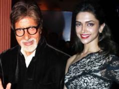 Amitabh Bachchan scares Deepika Padukone?