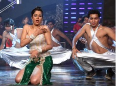 Tanisha Singh shoots for 18 Crore Ke Thumke
