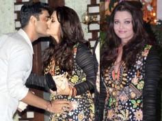 Aishwarya Rai Bachchan spotted hugging hubby Abhishek's best friend!