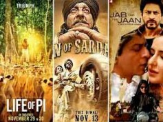 Life Of Pi affects Jab Tak Hai Jaan, Son Of Sardar collection
