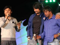 Pictures: Upendra, Sudeep at Rajani Kantha music release function