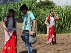 Pictures: Veena Malik turns village belle for Nagna Satyam
