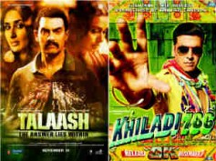 Khiladi 786, Talaash weekend collection at Box Office