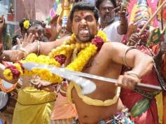 Pics: Jayam Ravi's fierce Masana Kollai in Boologam