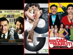 Jolly LLB, 3G, MDKM first weekend collection at Box Office