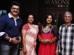 Photos: Vijay's parents, Namitha at Chennaiyil Oru Naal première