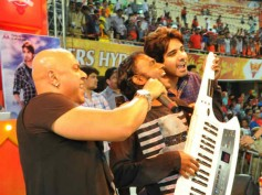 Photos: Sushant-Baba Sehgal perform Adda song at IPL match