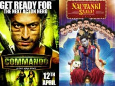 Commando, Nautanki Saala 1st weekend collection at Box Office