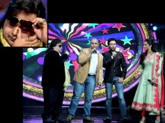 Teary-Eyed Bappi Lahiri Gifted Gold Chain On Indian Idol Junior