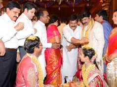Pictures: Celebs Galore At Balakrishna's Daughter's Tejaswini Wedding