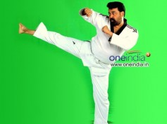 Mohanlal Awarded Honourary Thaikondo Blackbelt