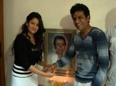 Photos: Radhika's Expensive Rakhi To Shivaraj Kumar