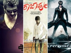 Raja Huli Beats Arrambam-Krrish 3 At Bangalore Box Office
