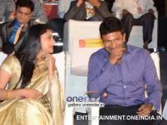Photos: Puneet Rajkumar, Ramya Honoured With State Awards