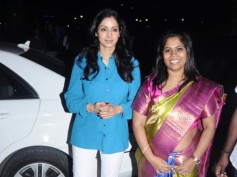 Photos: Sensational Actress Sridevi Spotted In Chennai