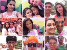 Holi Dhoom With Zoom: Sunny, Kamya, Dolly, Siddharth..In High Spirits!