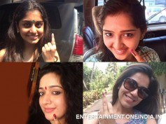 Pic: Kavya, Meera, Sanusha Cast Their Vote!