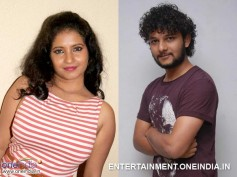 Rakesh, Shubha Poonja Shoots For Kotigondu Love Story
