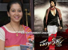 Yesteryear Actress Sudharani A Part Of Sudeep's Maanikya