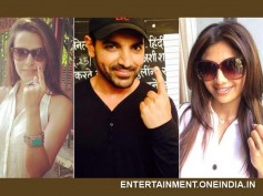 Bollywood Celebrities Exercise Their Vote