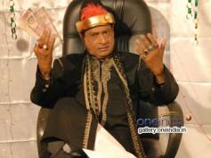 MS Narayana Playing Title Role In Nawab Basha