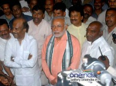 Rajinikanth & Other Celebs Wish Narendra Modi