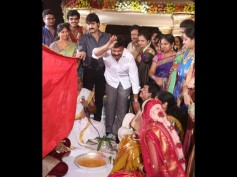 Photos: Chiranjeevi, Venkatesh At Sivaji Raja's Daughter's Wedding