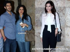 Sonam And Sridevi Support Mohit At Fugly Screening