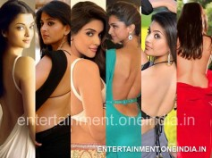 Hottest Backless Poses Of South Actresses