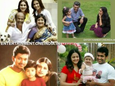 Photos: Tamil Actors & Their Kids (Children)