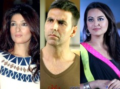 Akshay Kumar Warned By Wife For Bonding With Sonakshi?