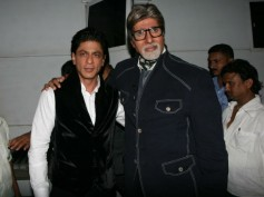 Shahrukh Wishes Goodluck To Amitabh For Yudh