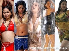 Pics: Tamil's Hot & Glamorous Actresses Getting Wet In Rain Songs