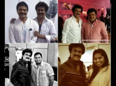 Photos: Rajinikanth With Telugu Stars On Lingaa Set