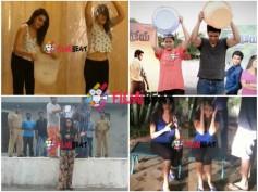 Pix: Hansika, Lakshmi, Nikhil, Swathi, Karthika Take ALS Ice Bucket Challenge