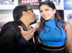 Is Mika Singh Desperate To Kiss Sunny Leone? (See Pics)