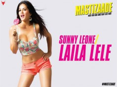 Sunny Leone Sizzles With Lollipop In Mastizaade New Poster