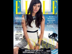 Shraddha Kapoor Graces The Cover Of Elle Magazine
