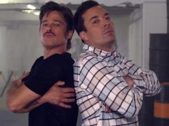 Brad Pitt and Jimmy Fallon's Breakdance Conversation, Watch The Funny Video